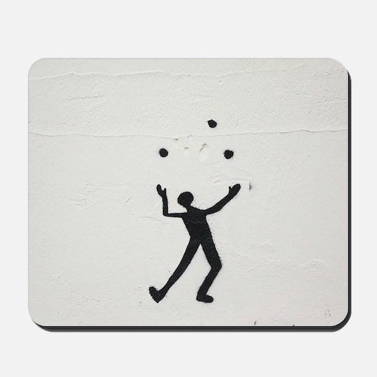 Juggler Mousepad