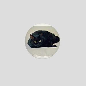 Black Cat! Mini Button