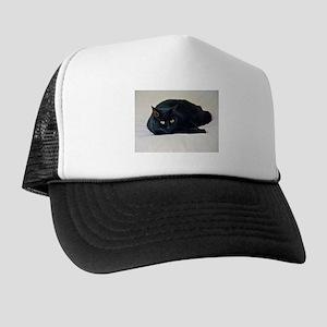 Black Cat! Trucker Hat