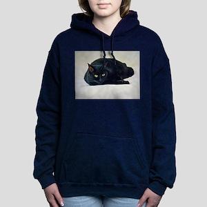 Black Cat! Women's Hooded Sweatshirt