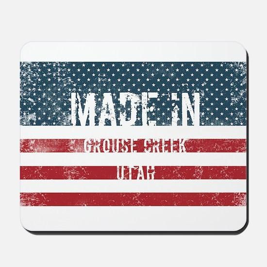 Made in Grouse Creek, Utah Mousepad