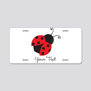 Red and Black Ladybug; Kid's, Girl's Aluminum Lice