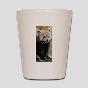 Red Panda 005 Shot Glass
