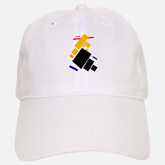 Malevich Abstract Rectangles Russian Artist So Baseball Baseball Cap