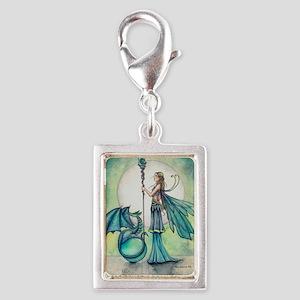 Aquamarine Dragon Fairy Fantasy Art Charms