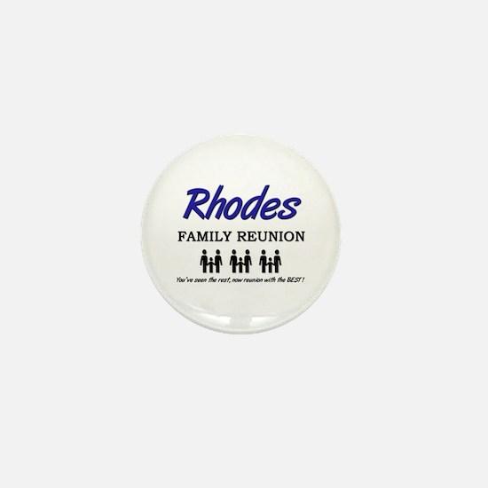 Rhodes Family Reunion Mini Button