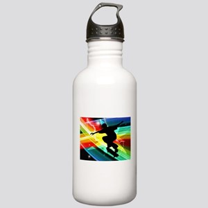 Skateboarder in Criss Stainless Water Bottle 1.0L