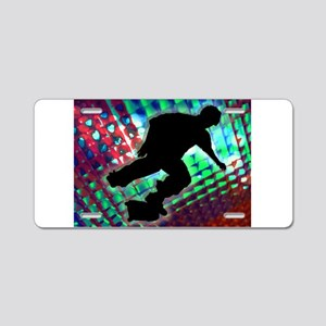 Red Green Blue Abstract Bo Aluminum License Plate