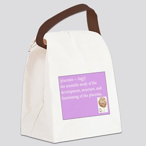 placentology Canvas Lunch Bag