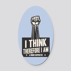 I think Union Oval Car Magnet