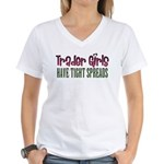 Trader Girls Women's V-Neck T-Shirt