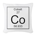 27. Cobalt Woven Throw Pillow