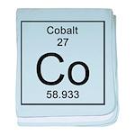 27. Cobalt baby blanket