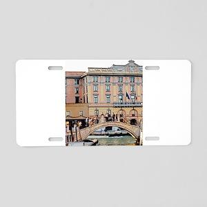 6:10 in Venice Aluminum License Plate