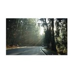 A Drive In The Park 35x21 Wall Decal