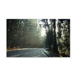 A Drive In The Park 20x12 Wall Decal