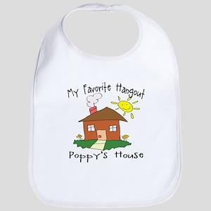 Favorite Hangout Poppy's House Bib