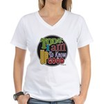 Up to Know Good Women's V-Neck T-Shirt
