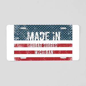 Made in Hagar Shores, Michi Aluminum License Plate