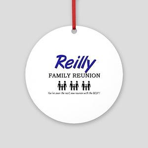 Reilly Family Reunion Ornament (Round)