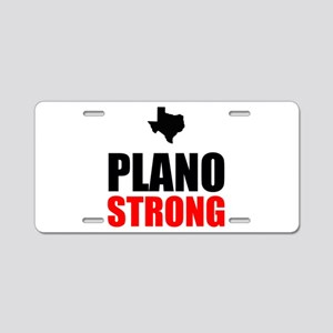 Plano Strong Aluminum License Plate