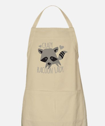 Crazy Racoon Lady Apron