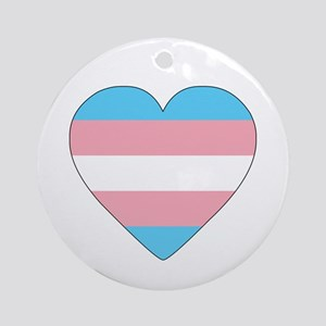 Transgender Pride Ornament (Round)
