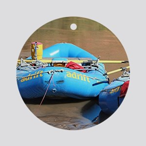 Rafts, Colorado River, Utah, USA Ornament (Round)