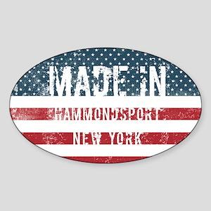 Made in Hammondsport, New York Sticker