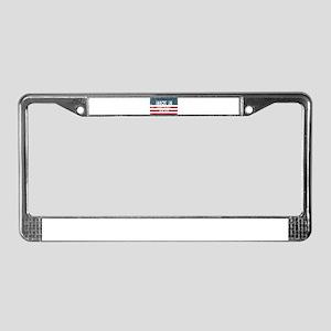 Made in Hampton Bays, New York License Plate Frame