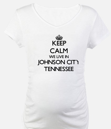 Keep calm we live in Johnson Cit Shirt