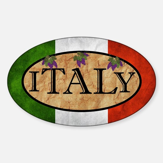 Italian Flag Decal