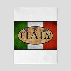 Italian Flag Twin Duvet