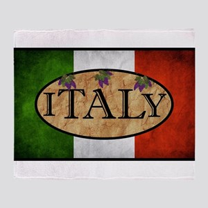 Italian Flag Throw Blanket