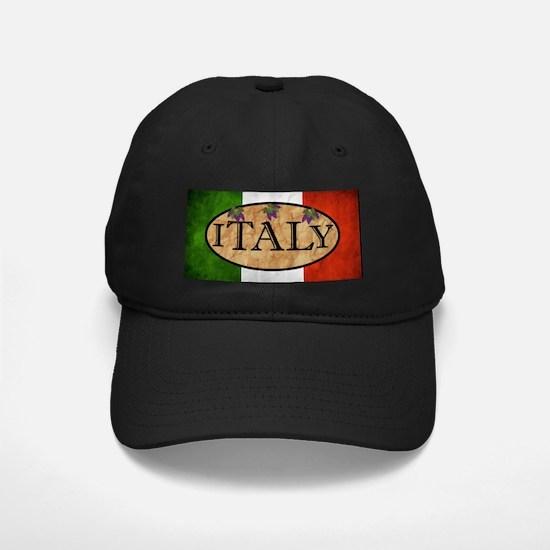 Italian Flag Baseball Hat