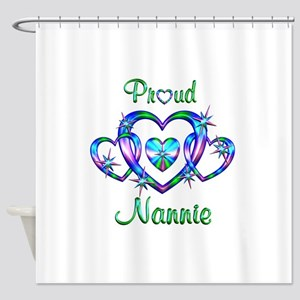 Proud Nannie Shower Curtain