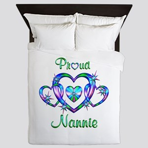 Proud Nannie Queen Duvet