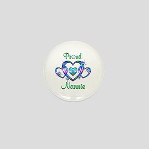 Proud Nannie Mini Button