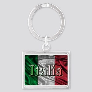 Italian Flag Graphic Keychains