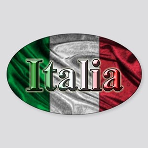 Italian Flag Graphic Sticker