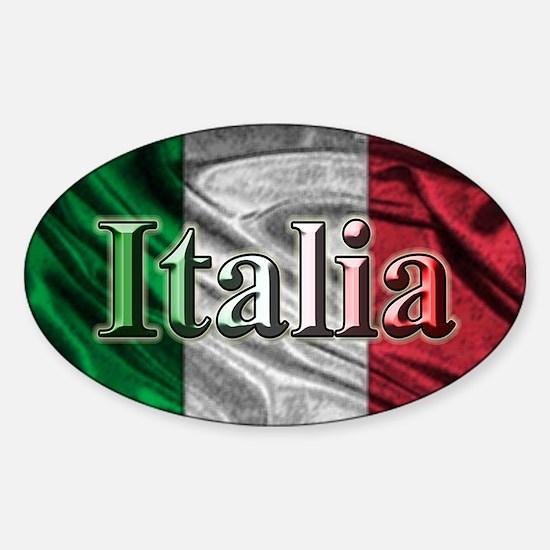 Italian Flag Graphic Decal