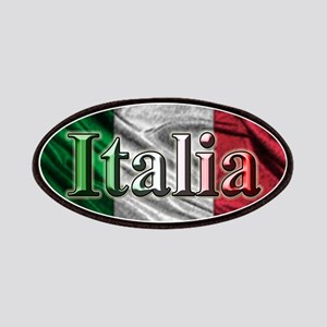 Italian Flag Graphic Patches