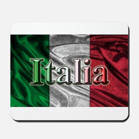 Italian Flag Graphic Mousepad