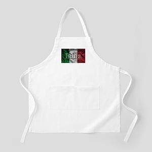 Italian Flag Graphic Apron