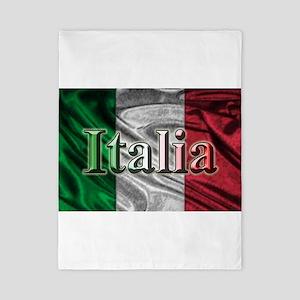 Italian Flag Graphic Twin Duvet