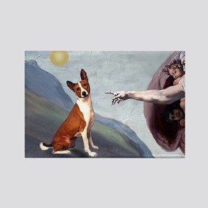 Creation of the Basenji Rectangle Magnet