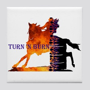 Turn 'n Burn Tile Coaster