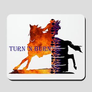 Turn 'n Burn Mousepad