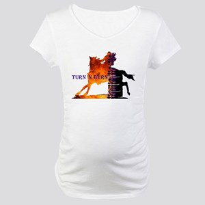 Turn 'n Burn Maternity T-Shirt
