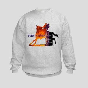 Turn 'n Burn Kids Sweatshirt